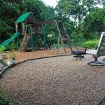 Покрытие для детской площадки из щебня