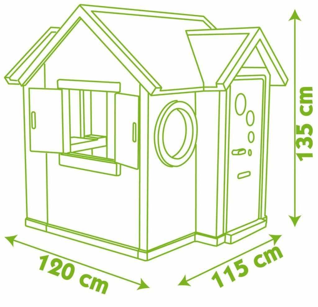 Размеры домика