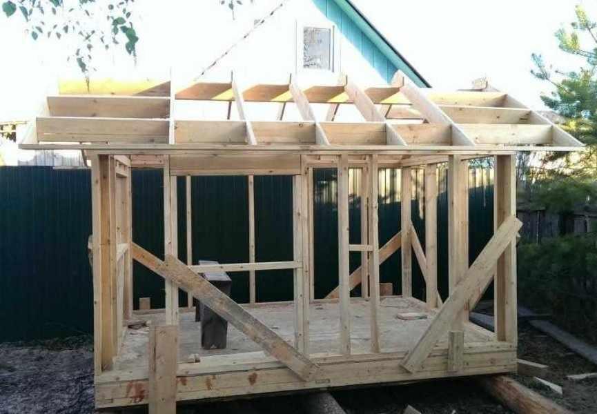 Строительство на дачном участке