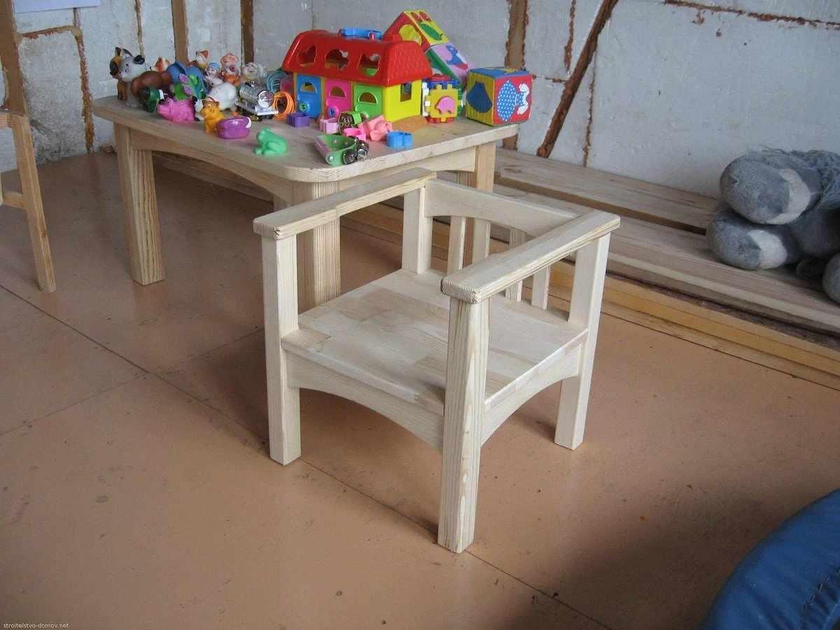 Детский стульчик своими руками