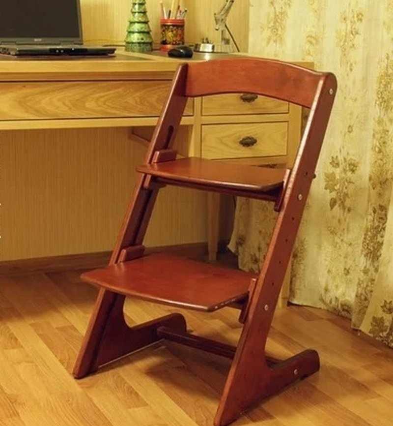 Детский стул с изменяющейся высотой