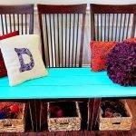 Оригинальные диваны из стульев