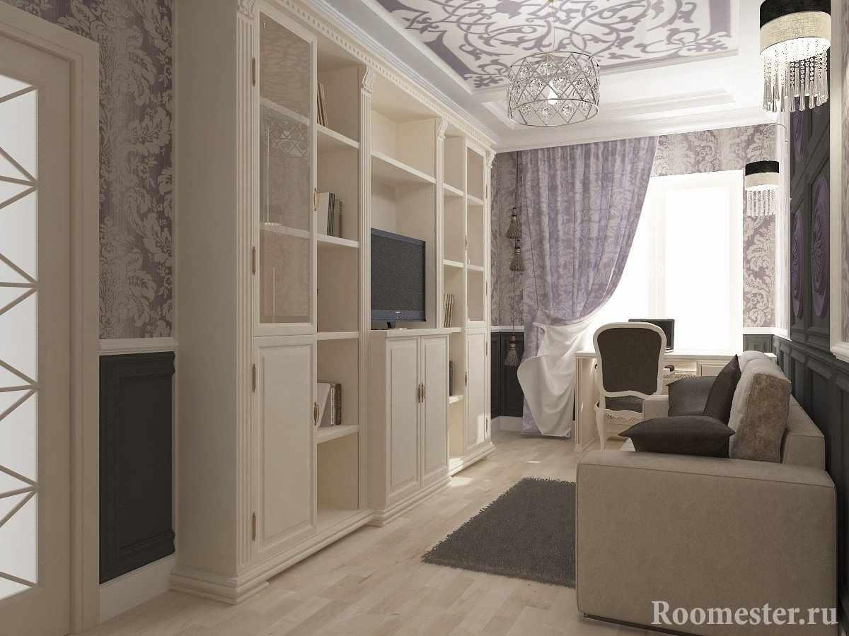 Светлая мебель в комнате