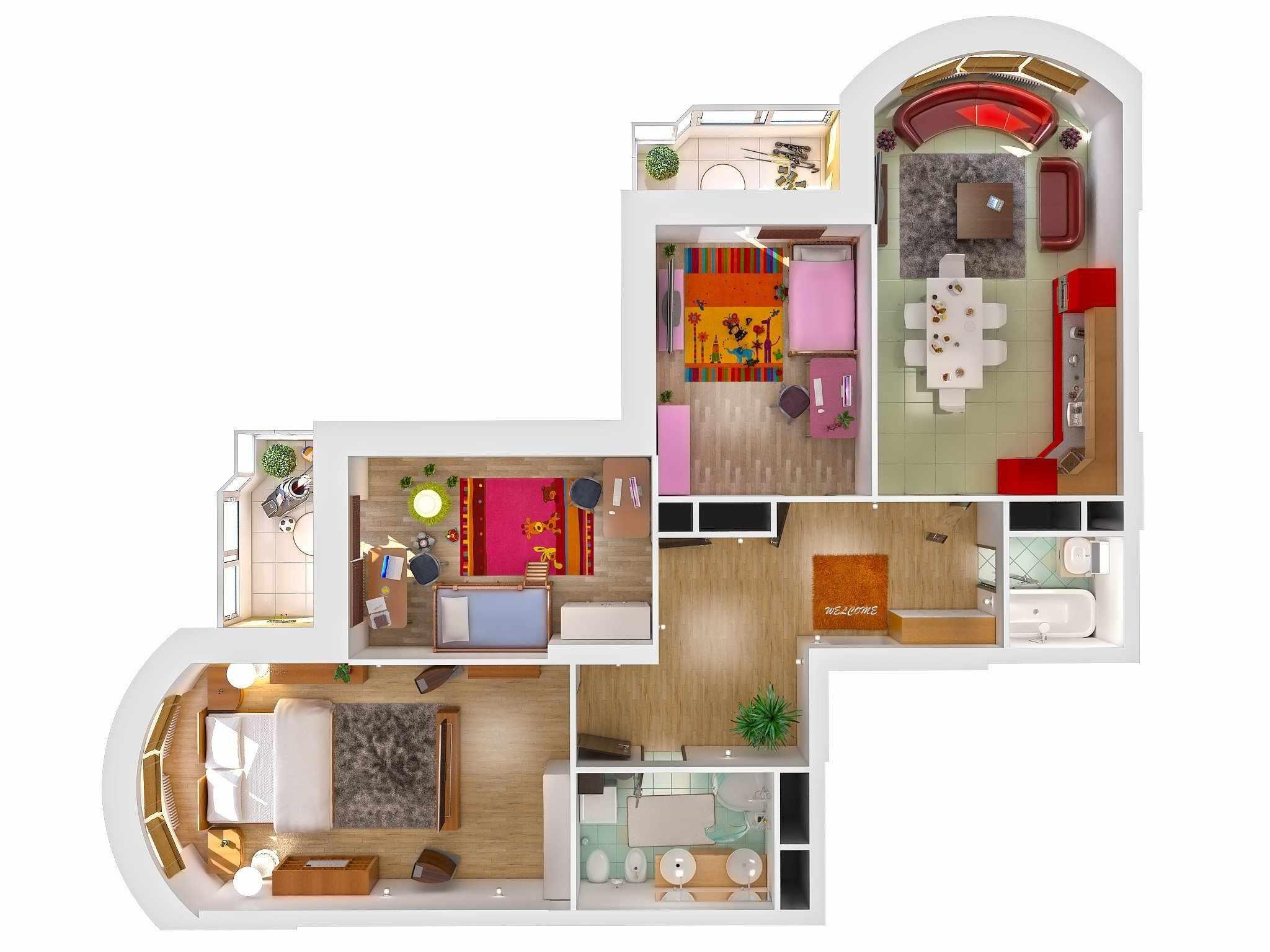 Вариант проекта квартиры