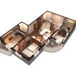 Проект многокомнатной квартиры