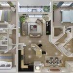Расположение комнат в квартире