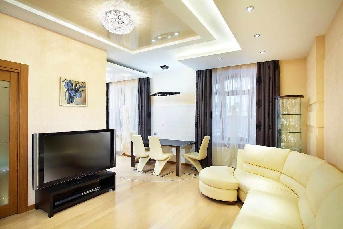 Светлая мебель в интерьере квартиры