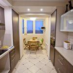 Балкон совмещенный с кухней