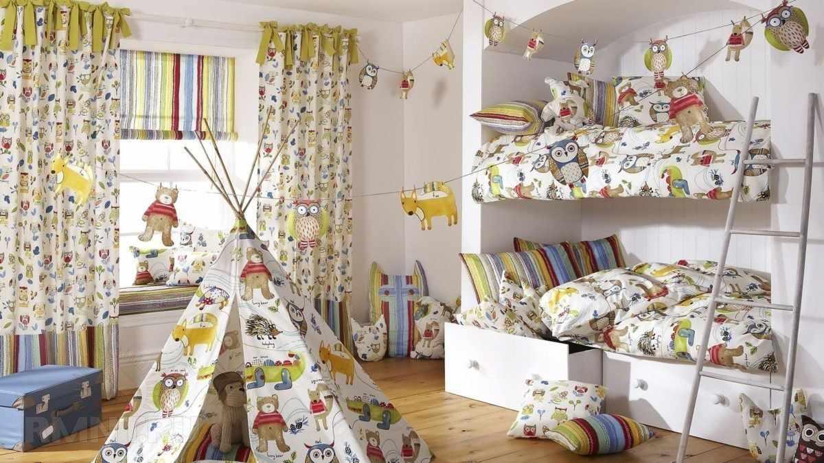 Текстиль в интерьере детской
