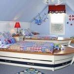 Кровати в виде лодок