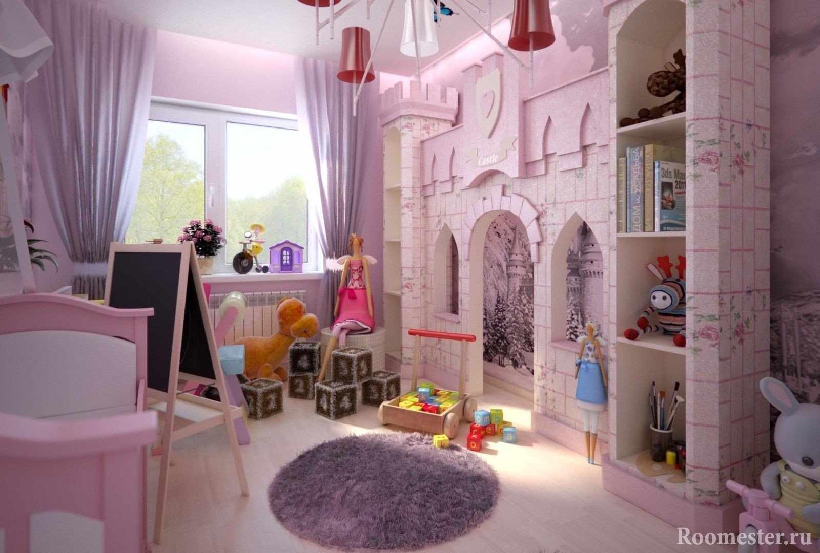 Замок в интерьере детской