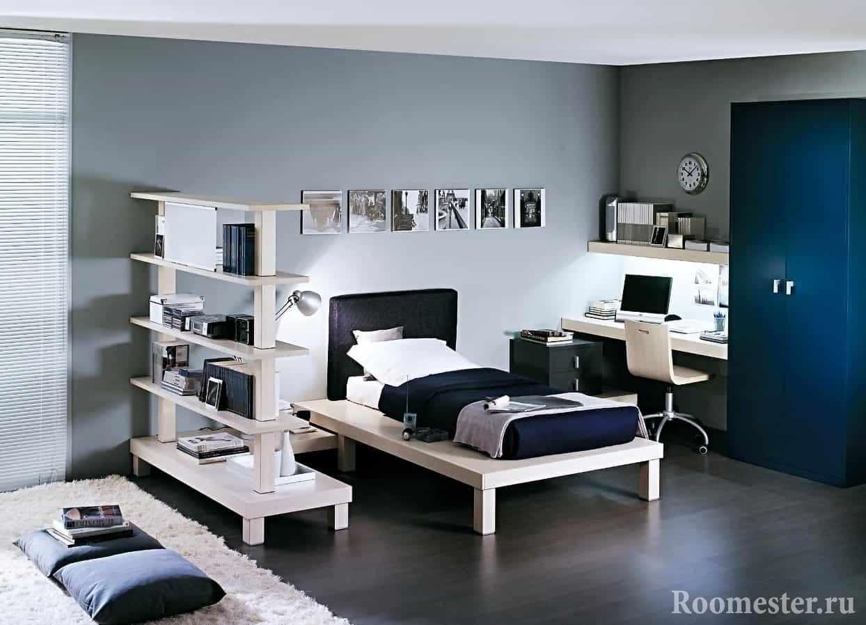 Спальная зона и игровая