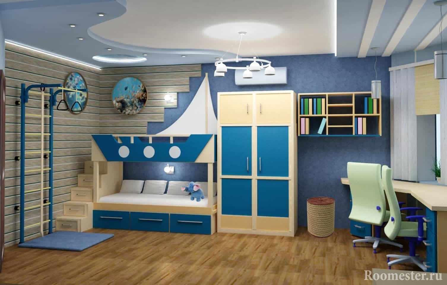 Корабль-кровать