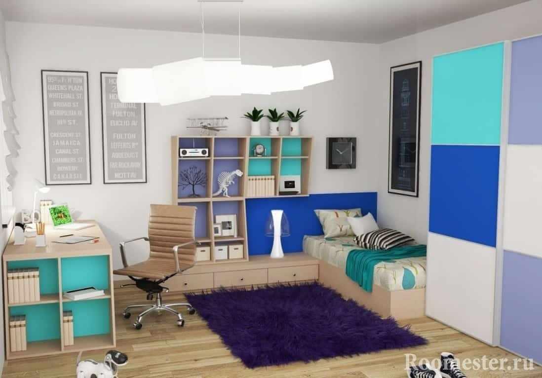 Спальня в детской