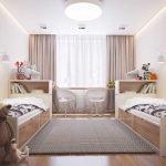 Светлые цвета в декоре детской комнаты