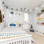 Белый в декоре детской комнаты