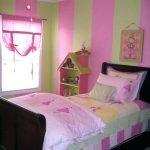 Сочетание зеленого и розового