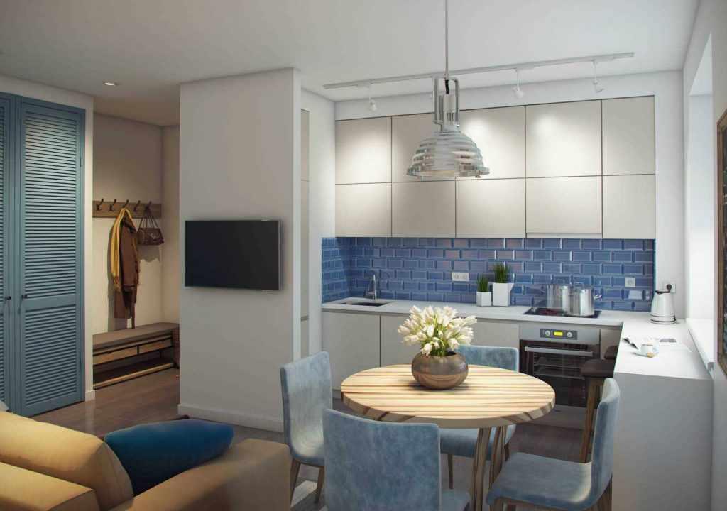 Кухня в двухкомнатной квартире 44 кв м