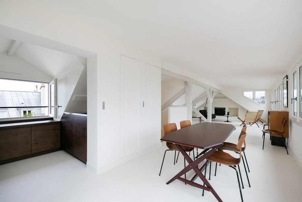 Двухуровневая квартира в стиле минимализм