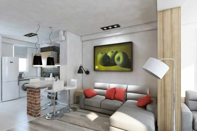 Мебель в интерьере евродвушки