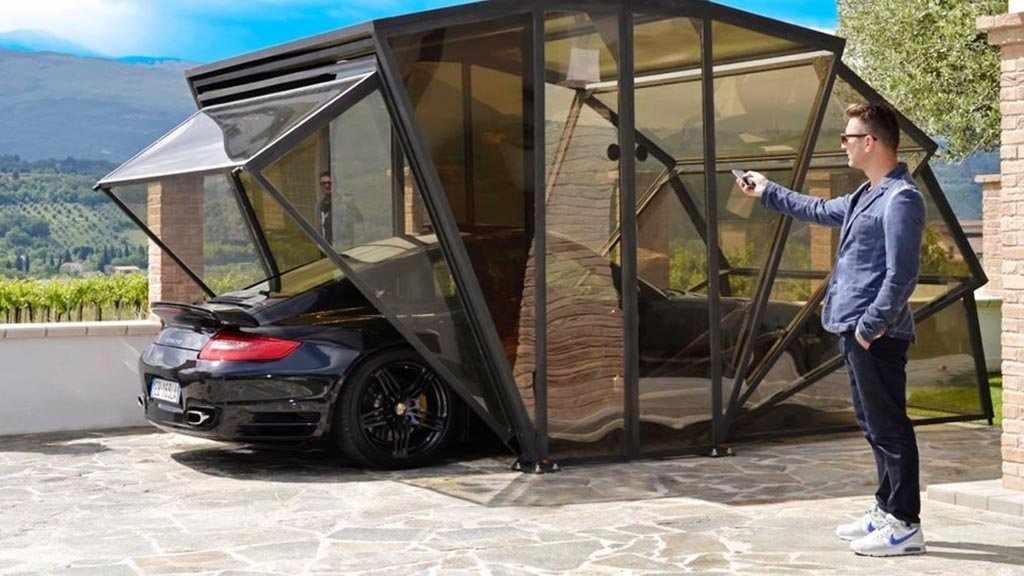 Складной гараж
