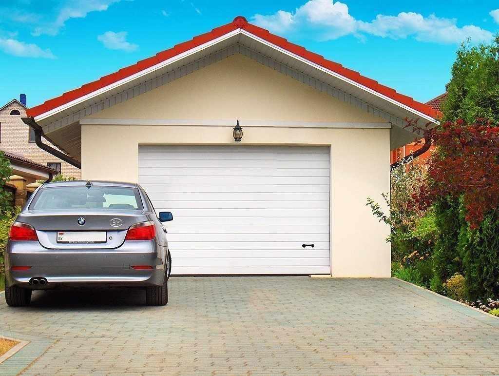 Плитка перед гаражом