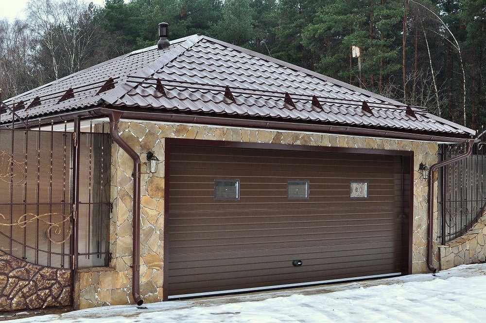 Отдельно стоящий гараж