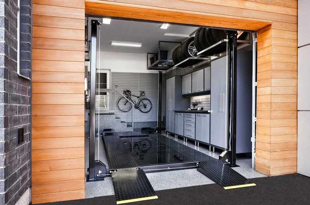 ОСБ на стенах в гараже