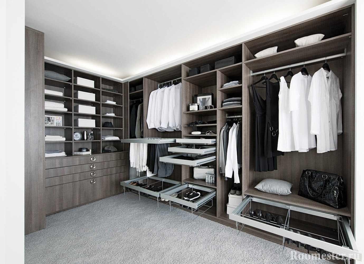 Механизмы для размещения одежды