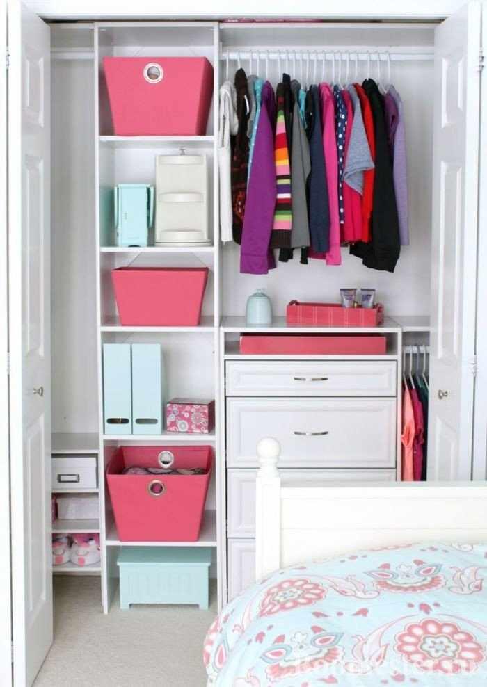 Дизайн гардеробной небольшого размера
