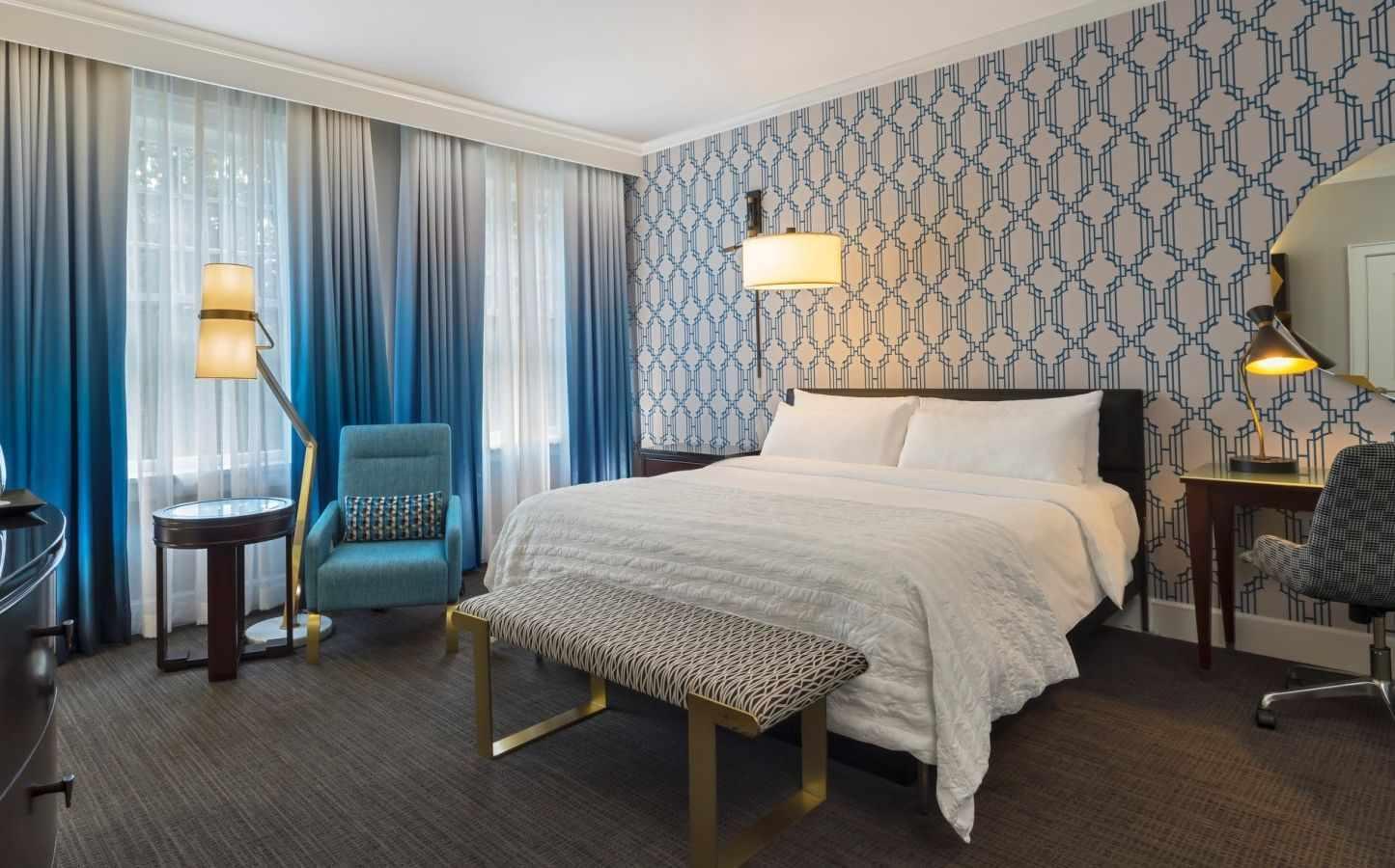 Вариант оформления гостевой комнаты