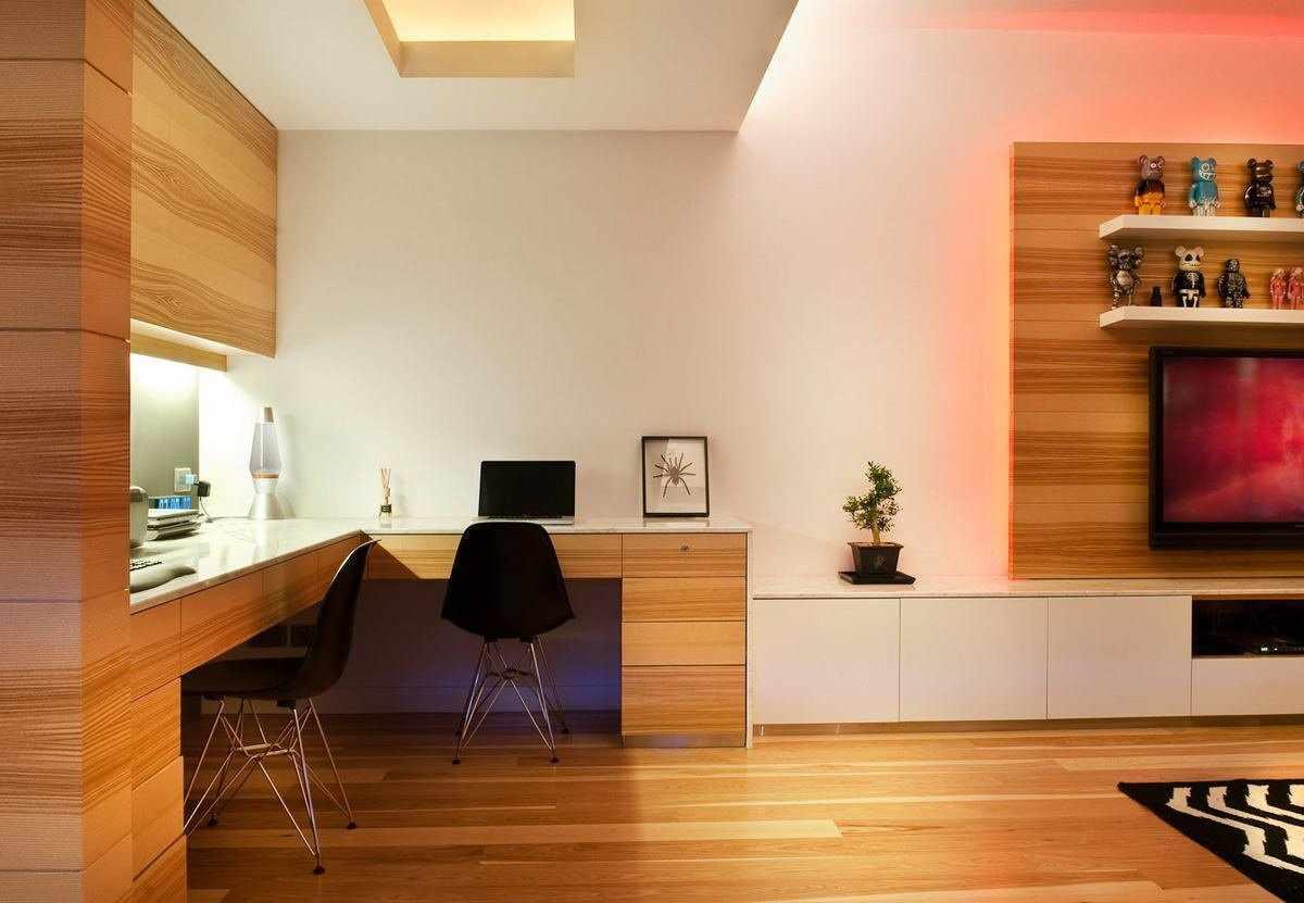 Ламинат в дизайне гостиной