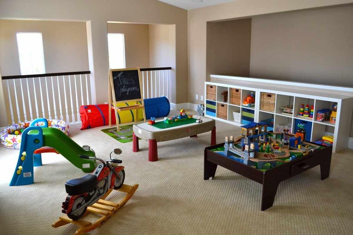 Игровая комната для мальчика