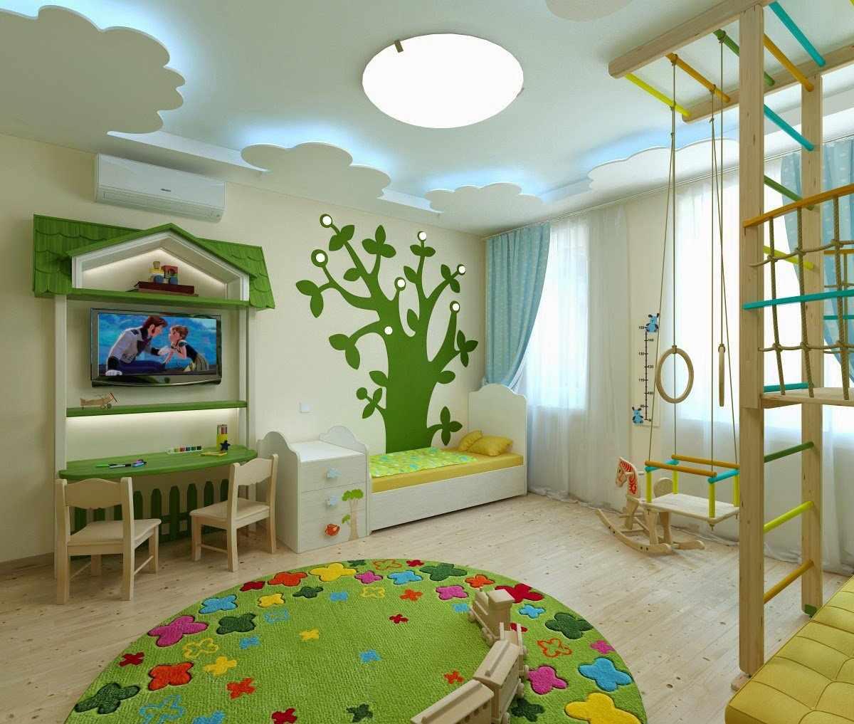 Игровая комната для двух детей