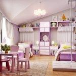 Розовый цвет в дизайне игровой комнаты