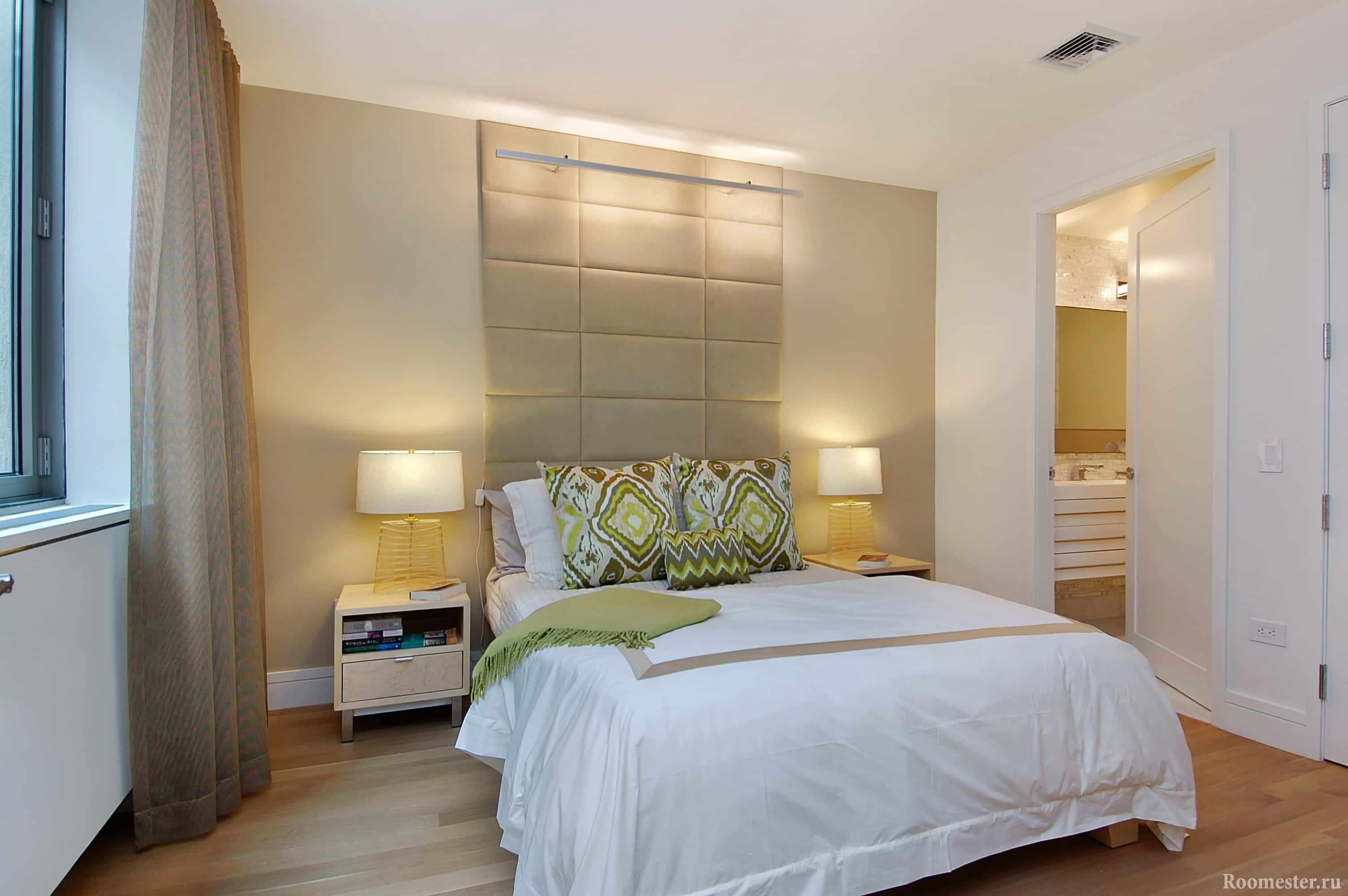 Оригинальная подсветка изголовья кровати и прикроватные светильники