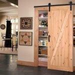Деревянная раздвижная дверь