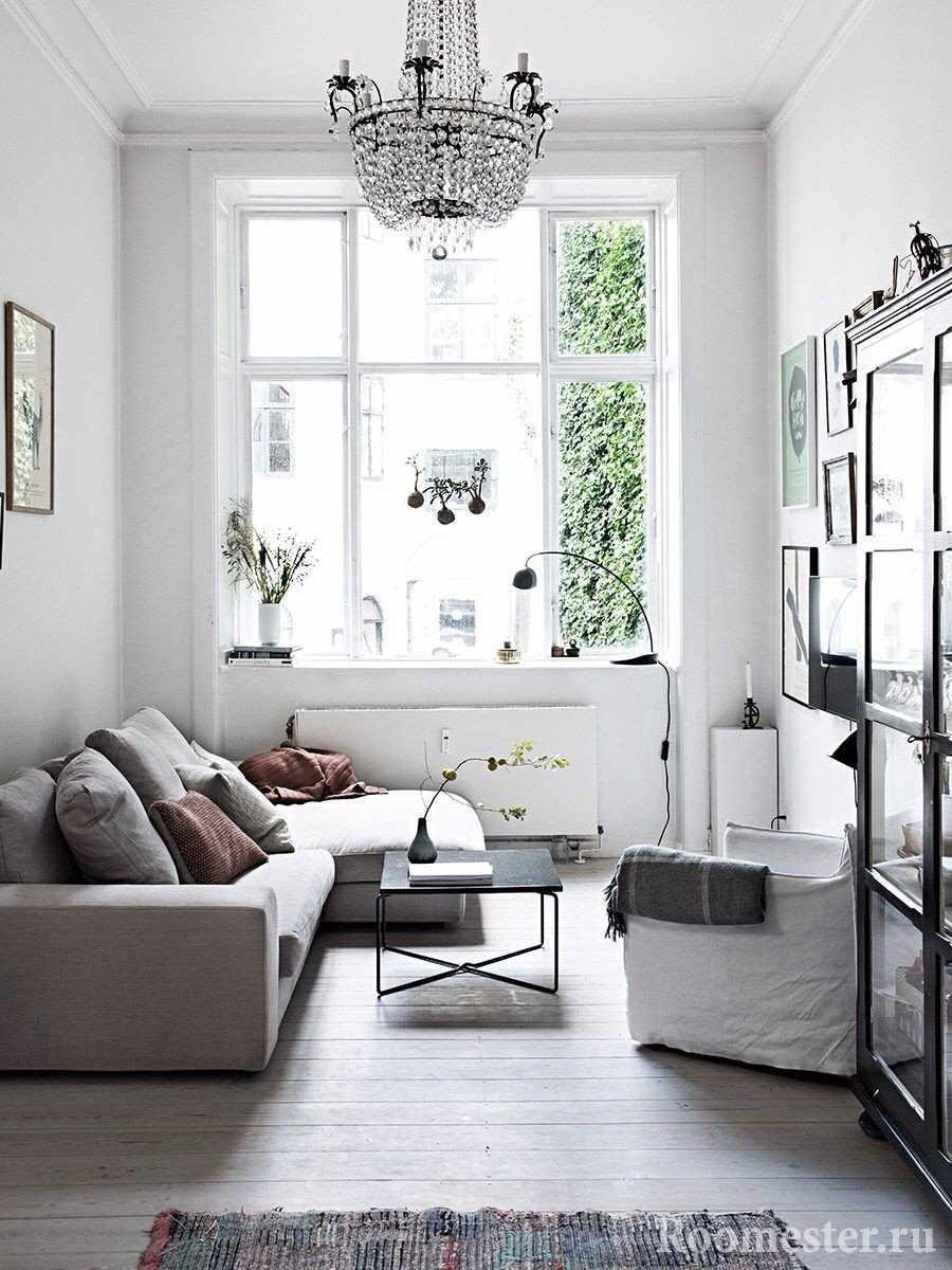 Белый цвет комнаты 12 кв м
