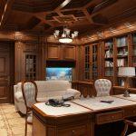 Аквариум в кабинете