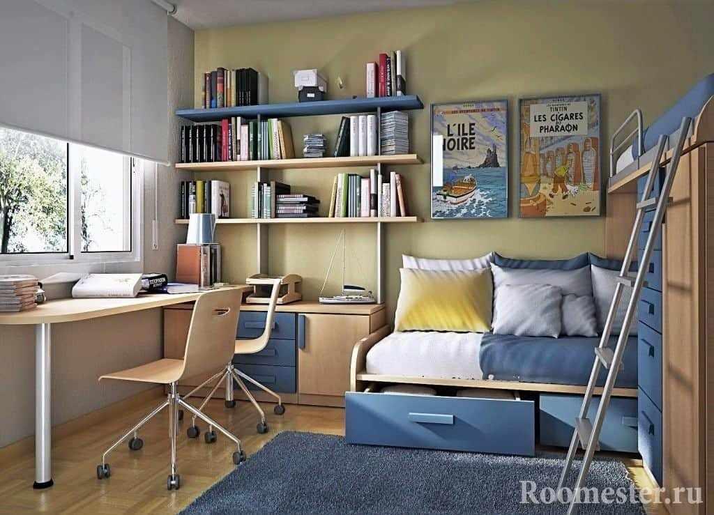 Дизайн комнаты для близнецов