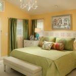 Сочный дизайн спальни