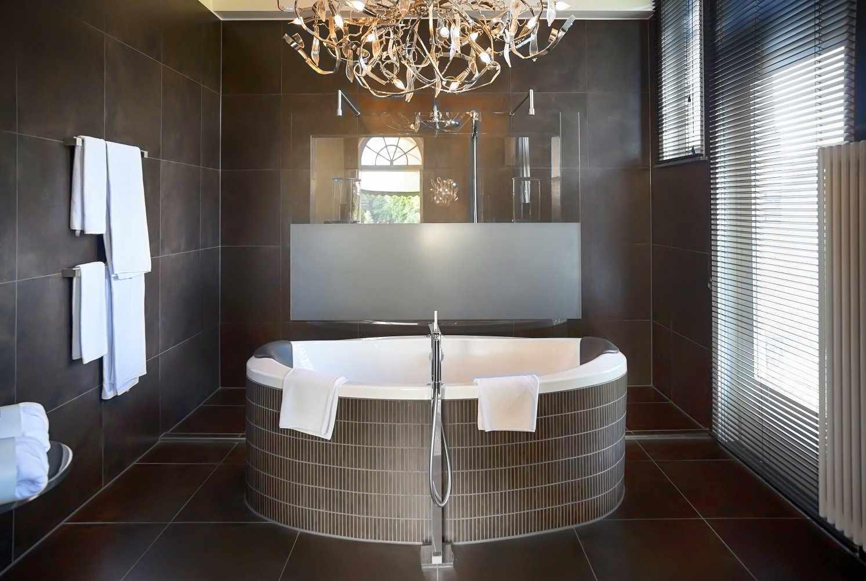 Ванная в стиле люкс