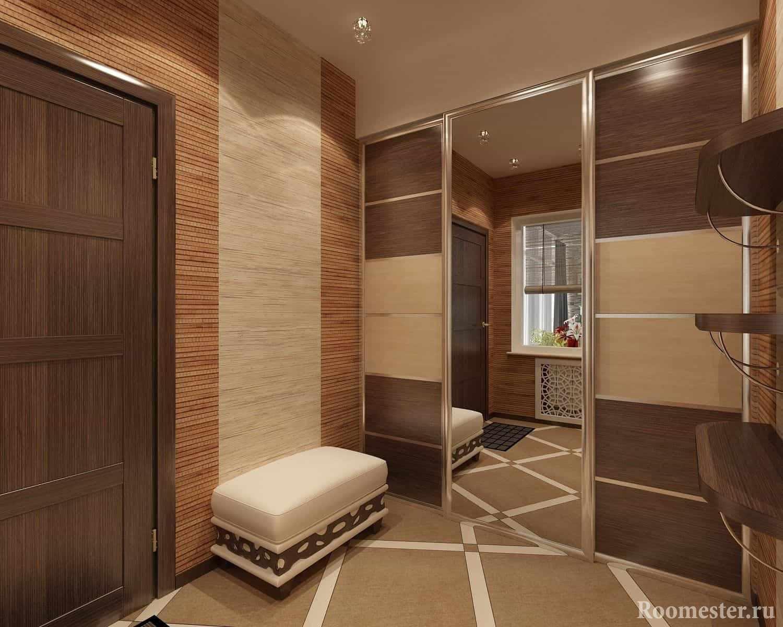 Шкаф-купе в коридоре