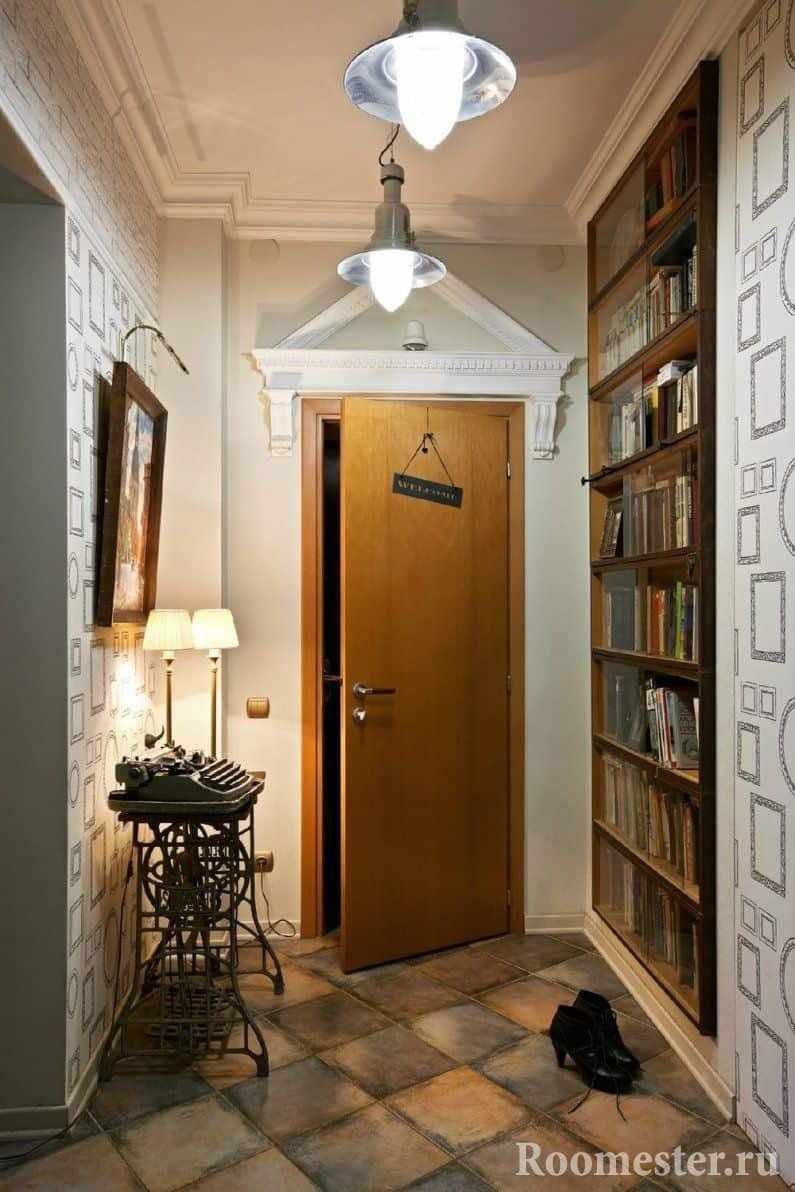 дизайн маленького коридора в панельном доме