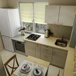 Интерьер для кухни 11 м кв