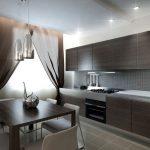 Стильная мебель на кухне