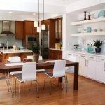 Гостиная с кухней