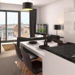 Планировка для квартиры-студии