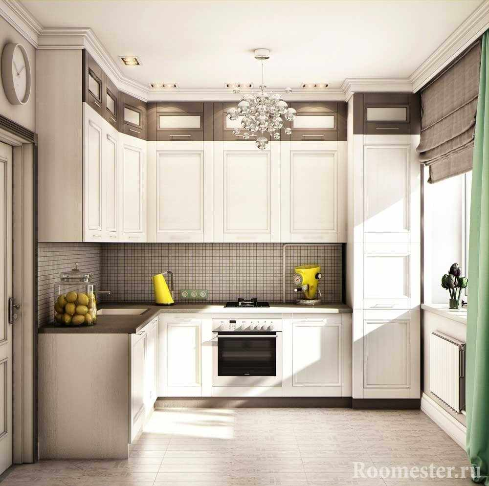 В шкаф-колонну можно спрятать холодильник
