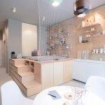 Компактное расположение мебели